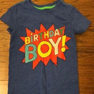 Cat & Jack Birthday Boy shirt